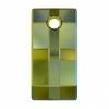 Swarovski Drop 6696 Urban 30mm Iridescent Green Crystal